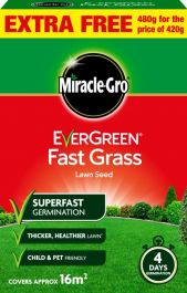 Miracle-Gro Fast Grass Seed Promo - 480gm