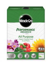 Miracle-Gro Performance Organics All Purpose Plant Feed - 1kg