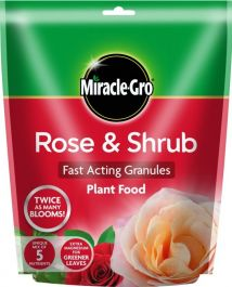 Miracle-Gro Rose & Shrub Plant Food - 750gm Pouch