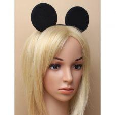 Mouse Ears Black Aliceband