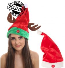 Musical Santa Hat (14 Inches)