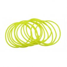 Neon Yellow Gummy Bangles (pack of 12)