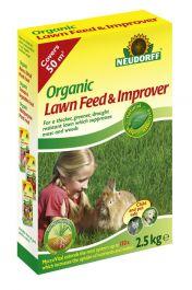 Neudorff Organic Lawn Feed & Improver - 2.5kg