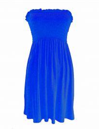 New Women's Sheering Boob Ladies Vest Top Powder Blue colour