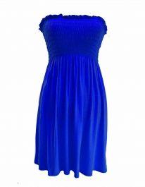 New Women's Sheering Boob Ladies Vest Top Royal Blue colour