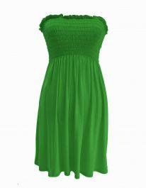 New Women's Sheering Boob Ladies Vest Top Sage Green colour