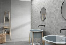 Newker Quartz Grey Ceramic Wall Tile 30 x 60cm - 1.08m2