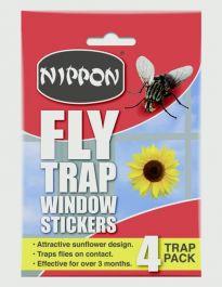 Nippon Fly Trap Window Stickers - 22g