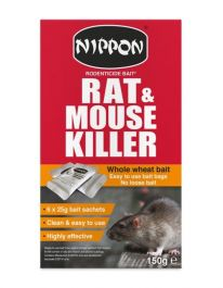 Nippon Rodenticide Whole Wheat Bait - 150g