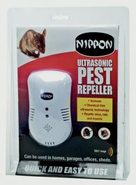 Nippon Ultrasonic Pest Repeller - 184g