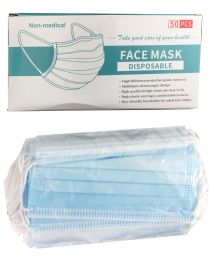 Non-medicated Disposable Mask (50Pcs)