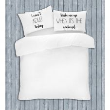 NOVELTY PILLOW CASE CANT ADULT 50X75