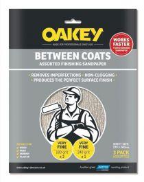 Oakey Between Coats Sheets - Pack 3