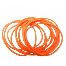 Orange Gummy Bangles (pack of 12)