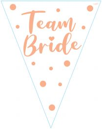 Party Bunting Team Bride 11 flags 3.9m