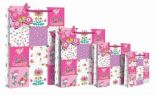 Patchwork Floral Gift Bag
