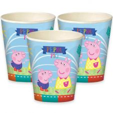 Peppa Pig Cups (Pack of 8)