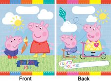 Peppa Pig Loot Bags (Pack of 8)