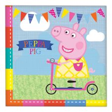 Peppa Pig Napkins Pack of 16