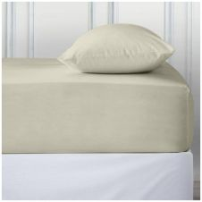 PERCALE DEEP FTD SHEET CREAM