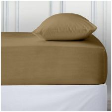 PERCALE DEEP FTD SHEET MOCHA