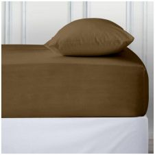 PERCALE DEEP FTD SHEET NATURAL