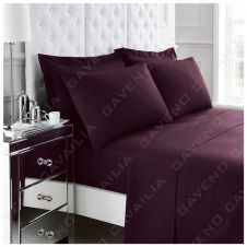 PERCALE FLAT SHEET BERRY