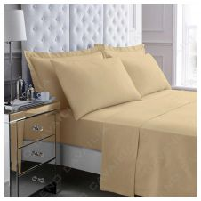 PERCALE FLAT SHEET NATURAL