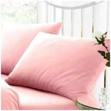 PERCALE PILLOW CASE PINK