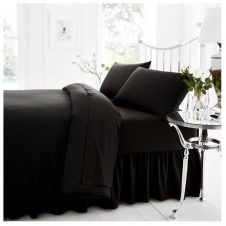 PERCALE VALANCE SHEET BLACK