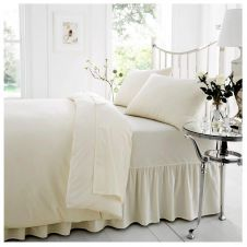 PERCALE VALANCE SHEET CREAM