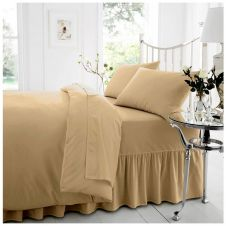 PERCALE VALANCE SHEET MOCHA