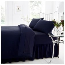 PERCALE VALANCE SHEET NAVY