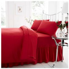 PERCALE VALANCE SHEET RED