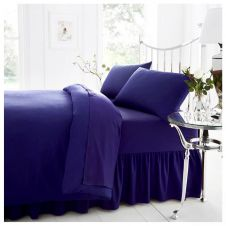 PERCALE VALANCE SHEET ROYAL BLUE