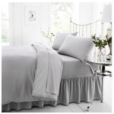 PERCALE VALANCE SHEET SILVER