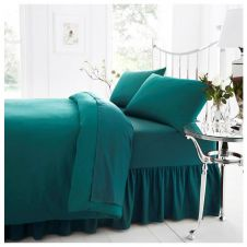 PERCALE VALANCE SHEET TEAL