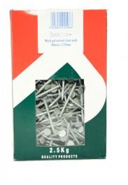 Picardy Galvanised Clout Nails - 50x335mm | Pack of 2.5kg