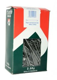 Picardy Round Wire Nails - 100x45mm | Pack of 2.5kg