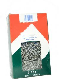 Picardy Round Wire Nails - 40x265mm | Pack of 2.5kg
