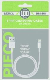 Pifco 8 Pin Charging Cable - 2m