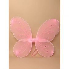 Pink Butterfly Fairy Wings