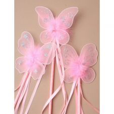 Pink Butterfly wand