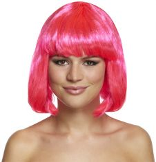 Pink Mid Wig 120g