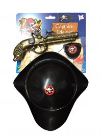Pirate Hat and Pistol Set