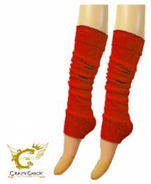 Plain Red Leg Warmer