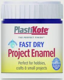 PlastiKote Fast Dry Enamel Brush On - Blue Metallic - 59ml Bottle