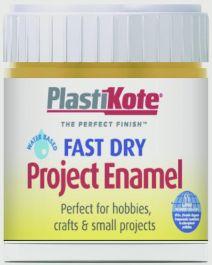 PlastiKote Fast Dry Enamel Brush On - Brass - 59ml Bottle