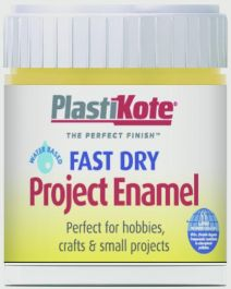 PlastiKote Fast Dry Enamel Brush On - Buttercup Yellow - 59ml Bottle