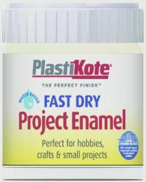 PlastiKote Fast Dry Enamel Brush On - Creme De La Creme - 59ml Bottle